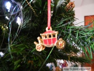 enfeite de Natal de Londres