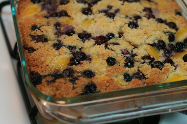 Recipe: Blueberry-Peach Cobbler. ~ Things I Like to Eat (...and Other ...