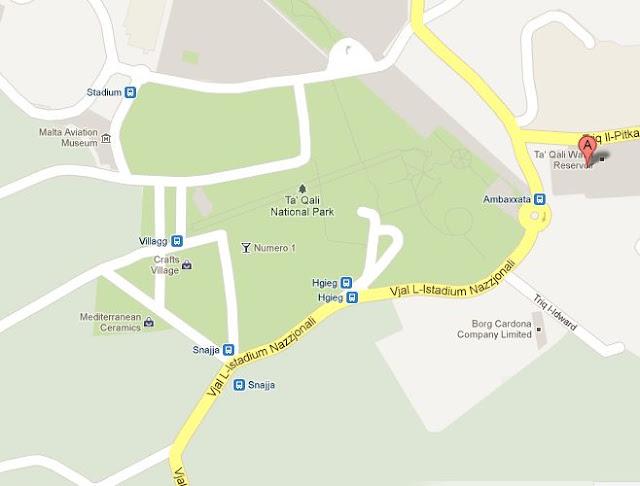 Mapa Ta Qali