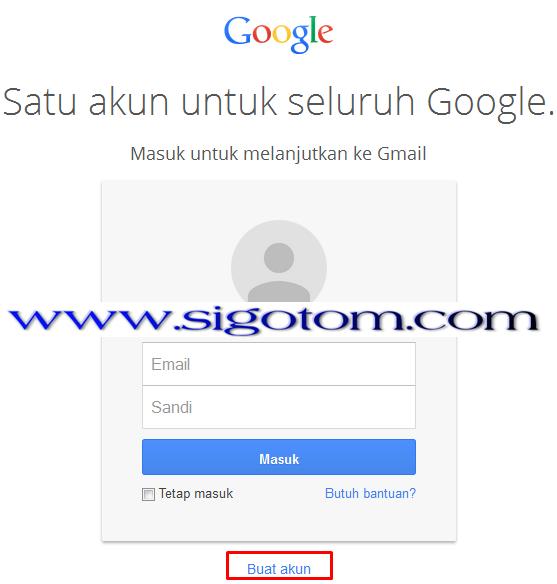 Gmail: Cara membuat/mendaftar Gmail