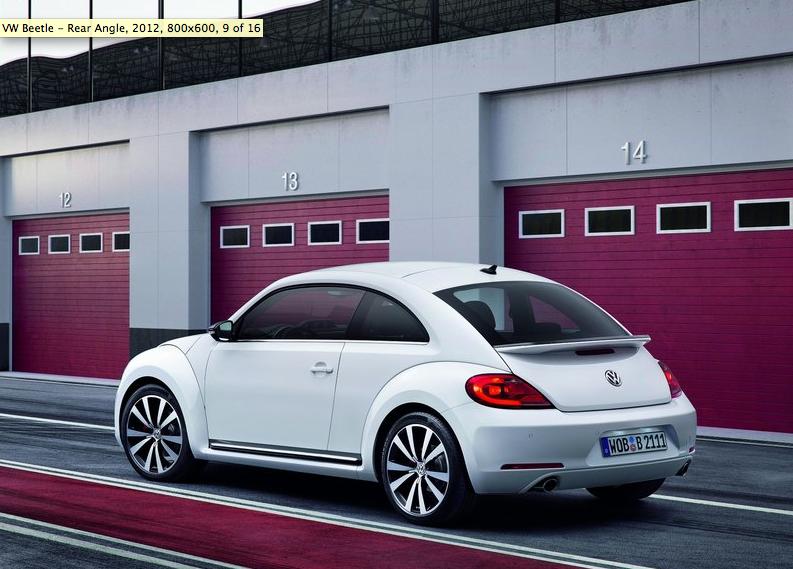 official 2012 volkswagen beetle pictures and specs. Black Bedroom Furniture Sets. Home Design Ideas