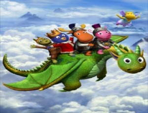 Los backyardigans los caballeros for Amiguitos del jardin