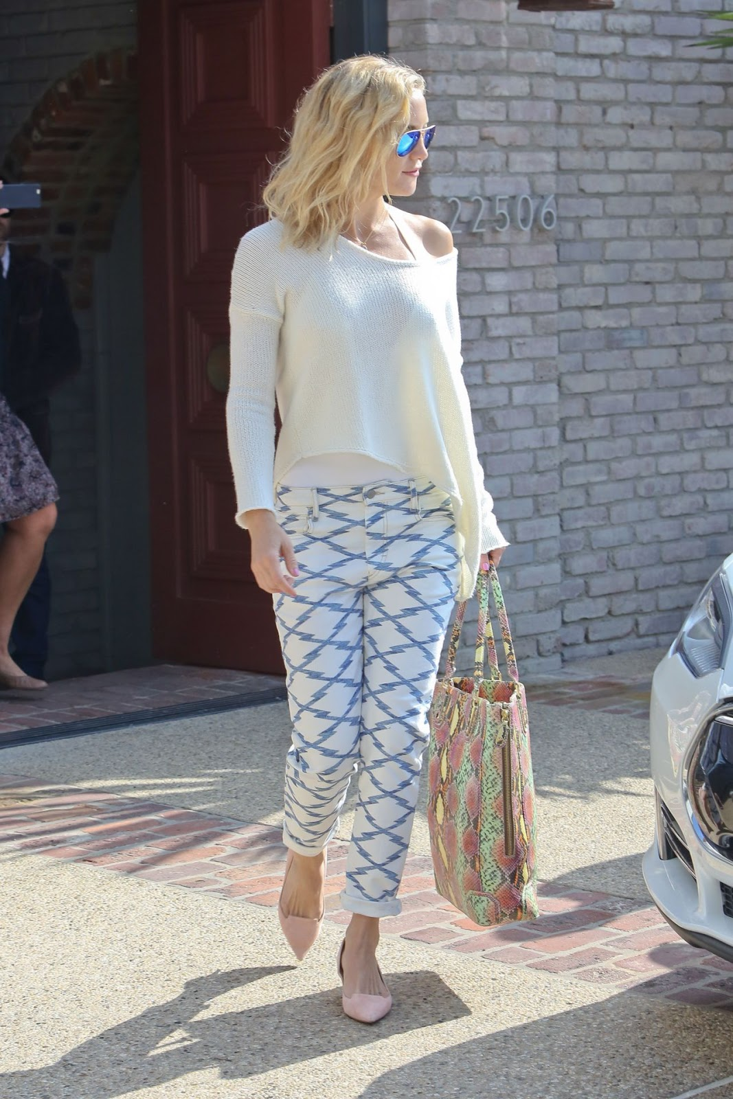Kate Hudson Spring Summer Outfit