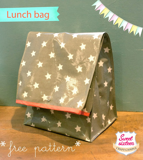 LUNCH BAG - FREE PATTERN