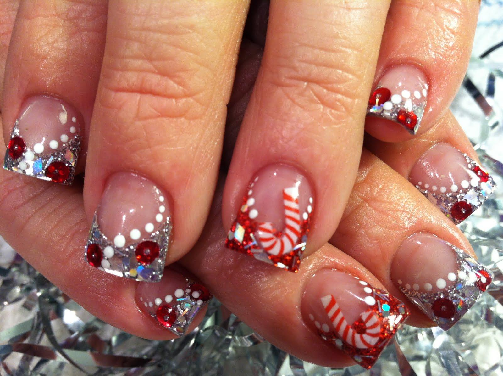 Cute Christmas Nail Ideas