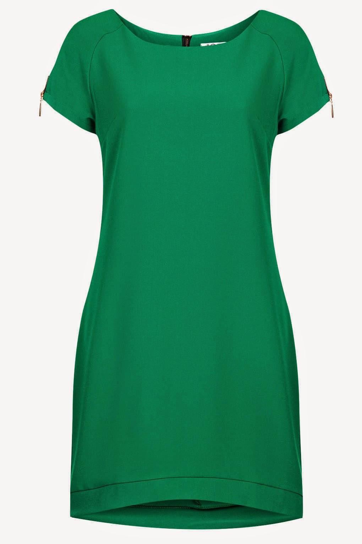 green wal g dress