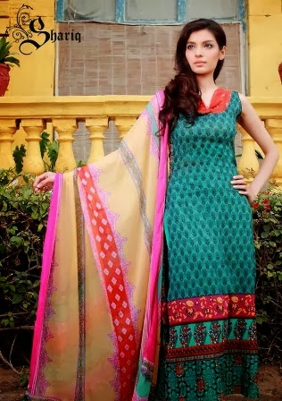 New Lawn Designs Dresses 2014