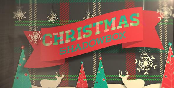 VideoHive Christmas Shadowbox Display