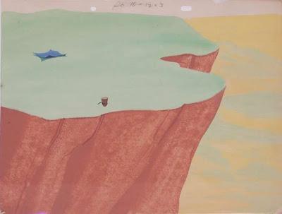 cartoon cliff