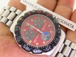 TAG HEUER PROFESSIONAL 200M CHRONOGRAPH RED DIAL