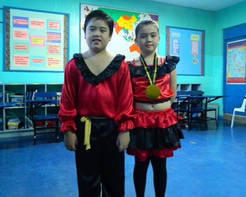 Spain costume, UN costume, dance costume