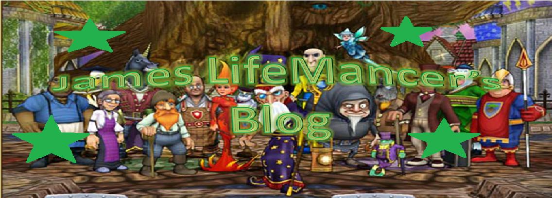 James LifeMancer's Blog