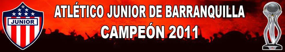 JUNIOR MANDA | SOY DE JUNIOR | Blog dedicado al mejor equipo de Colombia