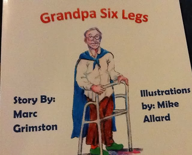 Grandpa Six Legs Marc Grimston and Mike Allard