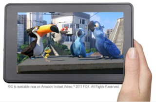 Kindle Fire Full Color 7 inch multitouch touchscreen