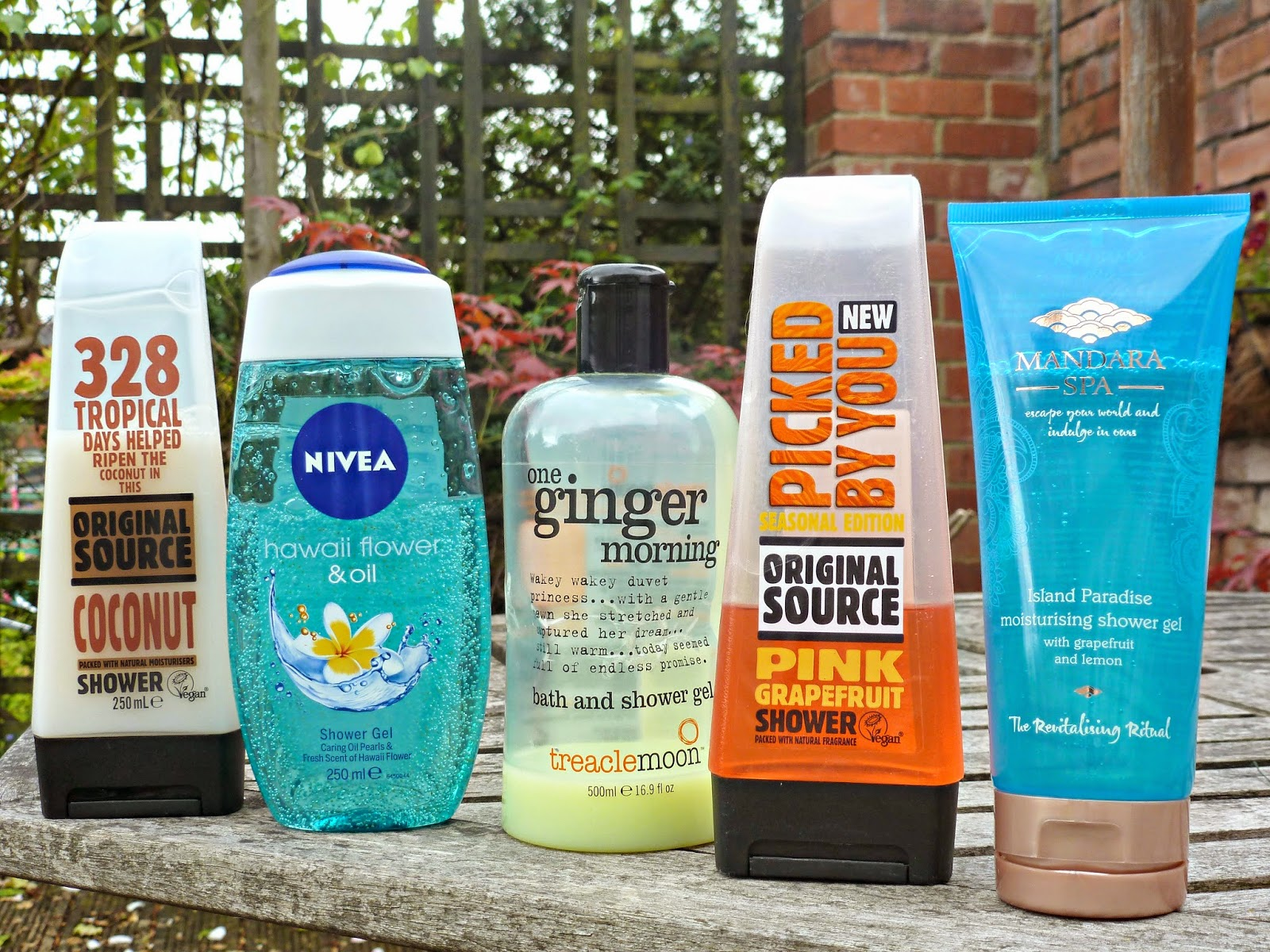 A picture of Summer Shower Gels