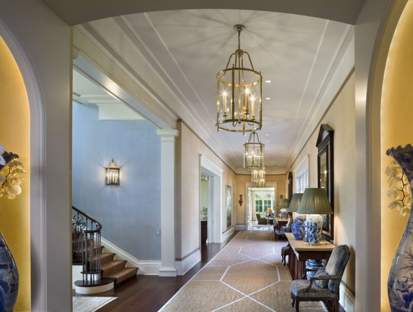 Home interior design for Beautiful foyer lighting