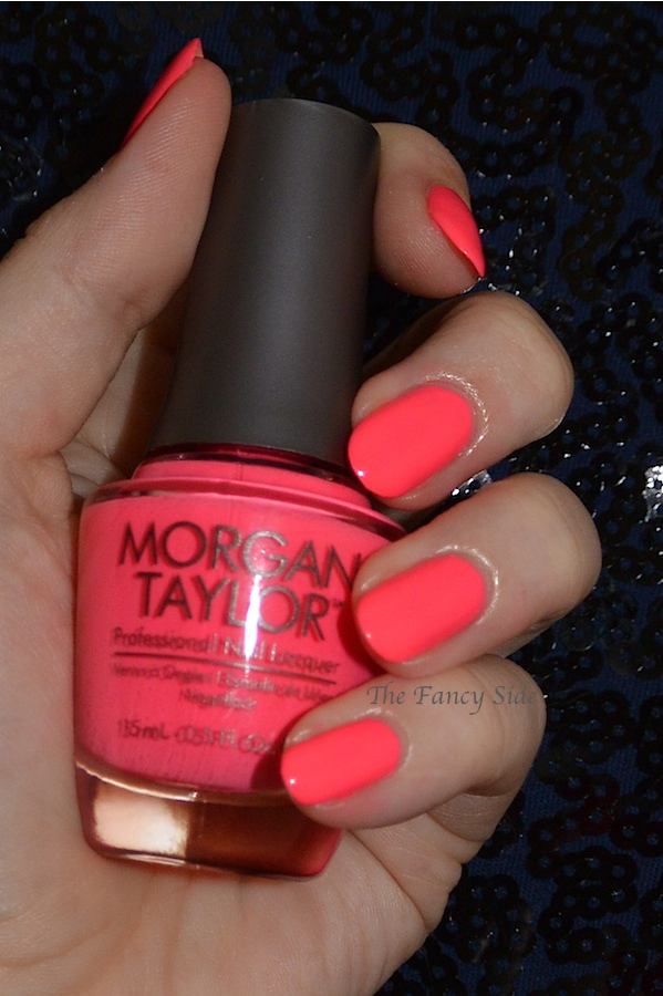 The Fancy Side: Morgan Taylor Neon Collection