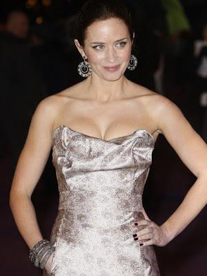 Emily Blunt Sterling Dangle Earrings