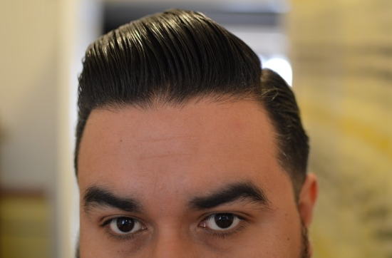 Hasil Pemakaian Slick Devil Pomade Medium Hold