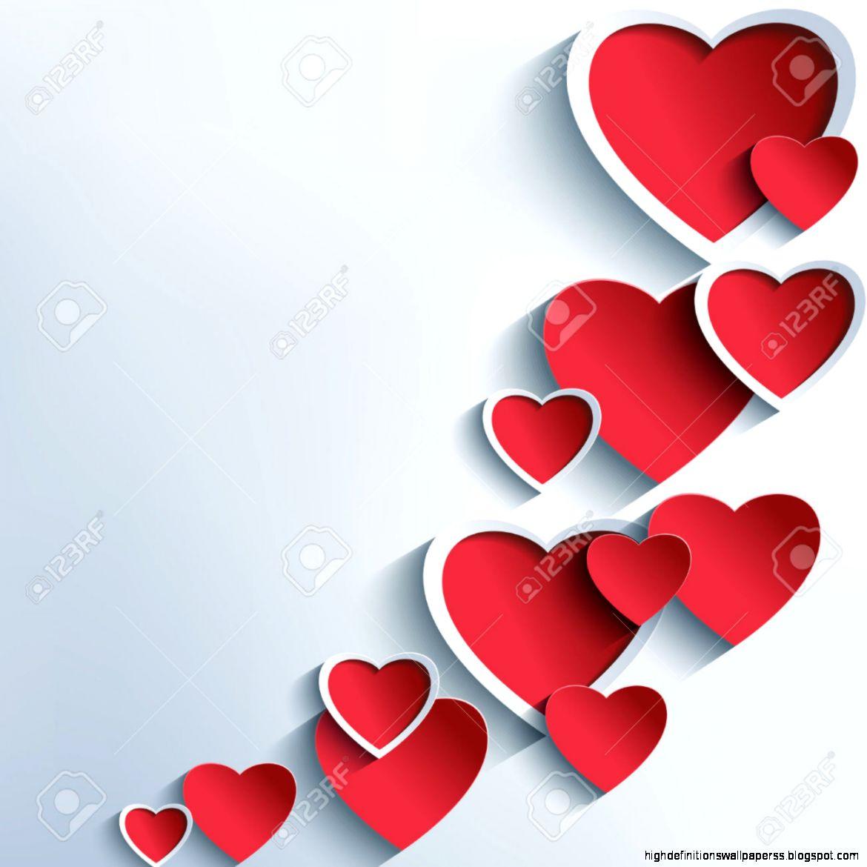 creative love heart vector wallpaper high definitions wallpa