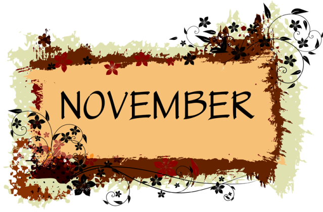 Thanksgiving Calendar Art : Happy clean living november financial wins