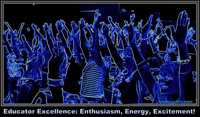 photo of: Educator Excellence: Enthusiasm, Energy, Excitement with Debbie Clement