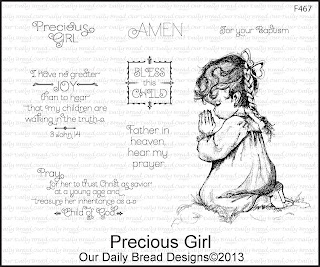 Our Daily Bread Designs, Precious Girl