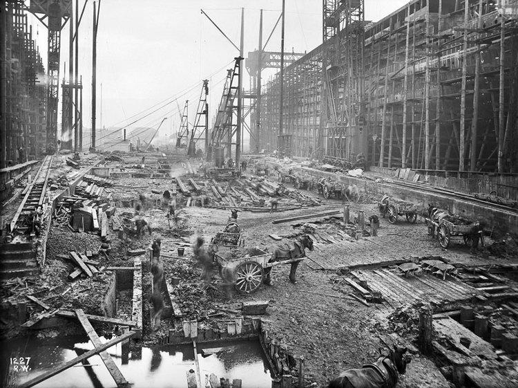 Basseta titanic - Construccion del titanic ...