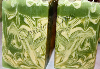 peppermint wake-up handmade soap
