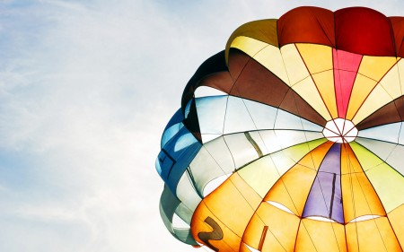 Has sido mi paracaídas desde el momento que te conocí.