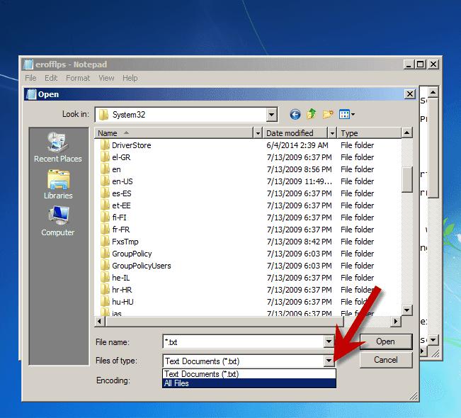 Cara mereset Password Windows 7 tanpa menggunakan Software