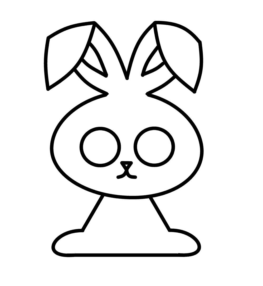 Uncategorized Easy Bunny To Draw how to draw cartoons easter bunny cartoons