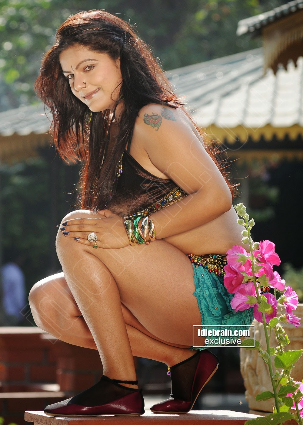 Telugu Actress Reva DN Spicy