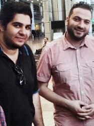 محمد بشار مع ابراهيم السيلاوي