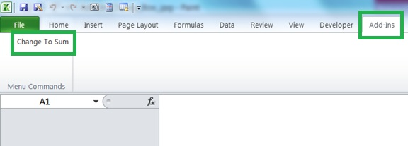 Changing all pivot table fields to sum excel caf for Ptable worksheet