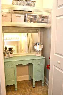 Liz Marie Bathroom Closet Re Do