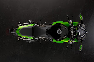 Kawasaki Z1000SX Top View HD Wallpaper