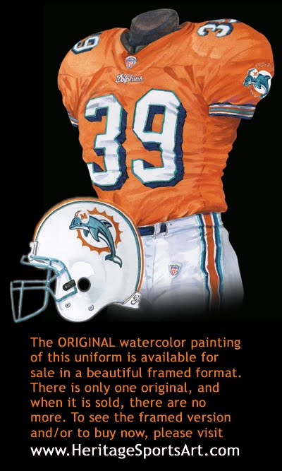 Miami Dolphins Uniform And Team History Heritage