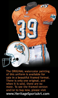 Miami Dolphins 2004 uniform