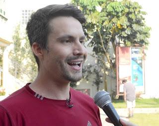 Apresentador Samuel Guimarães elogia belezas naturais e profissionais de Teresópolis