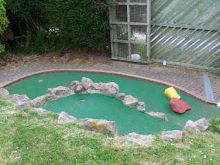 Fort Fun Adventure Golf Course in Eastbourne