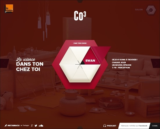Website using colorful web designs