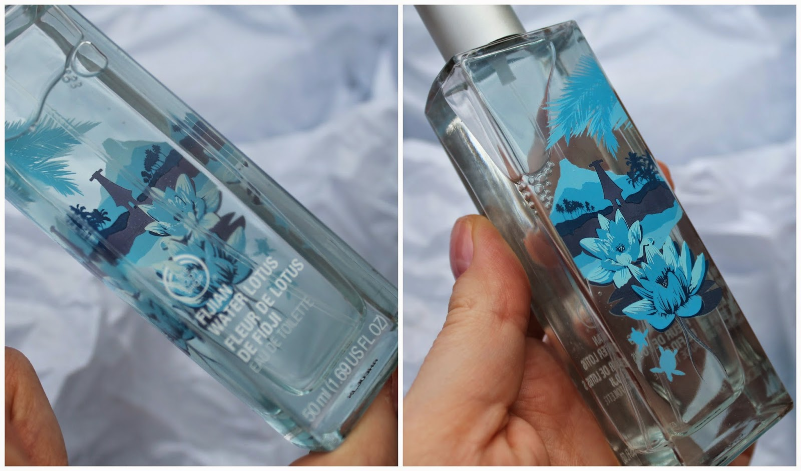 The Body Shop Fijian Water Lotus
