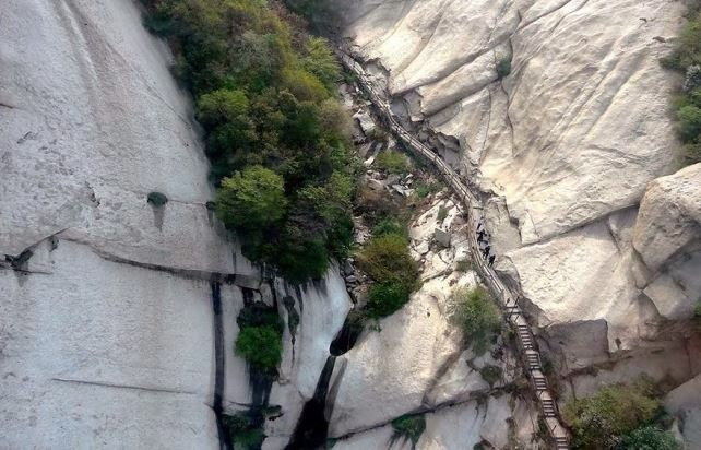 El sendero mas peligroso del mundo