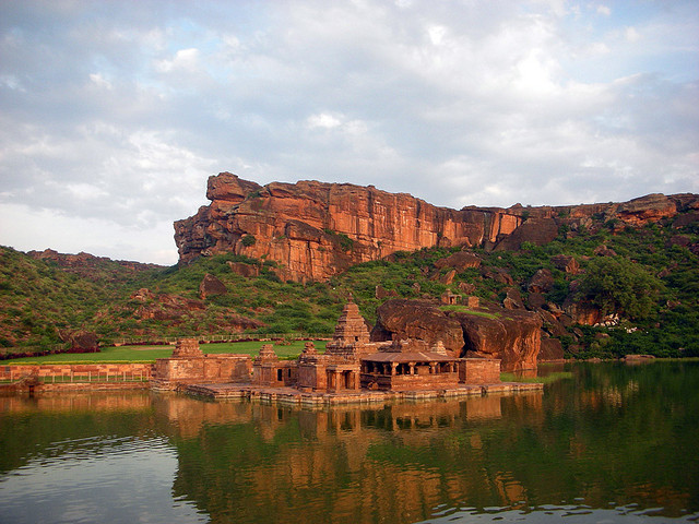 Temple at Badami, Karnataka