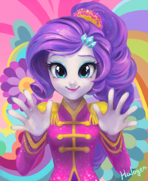 Friendship Through the ages Ver. Rarity