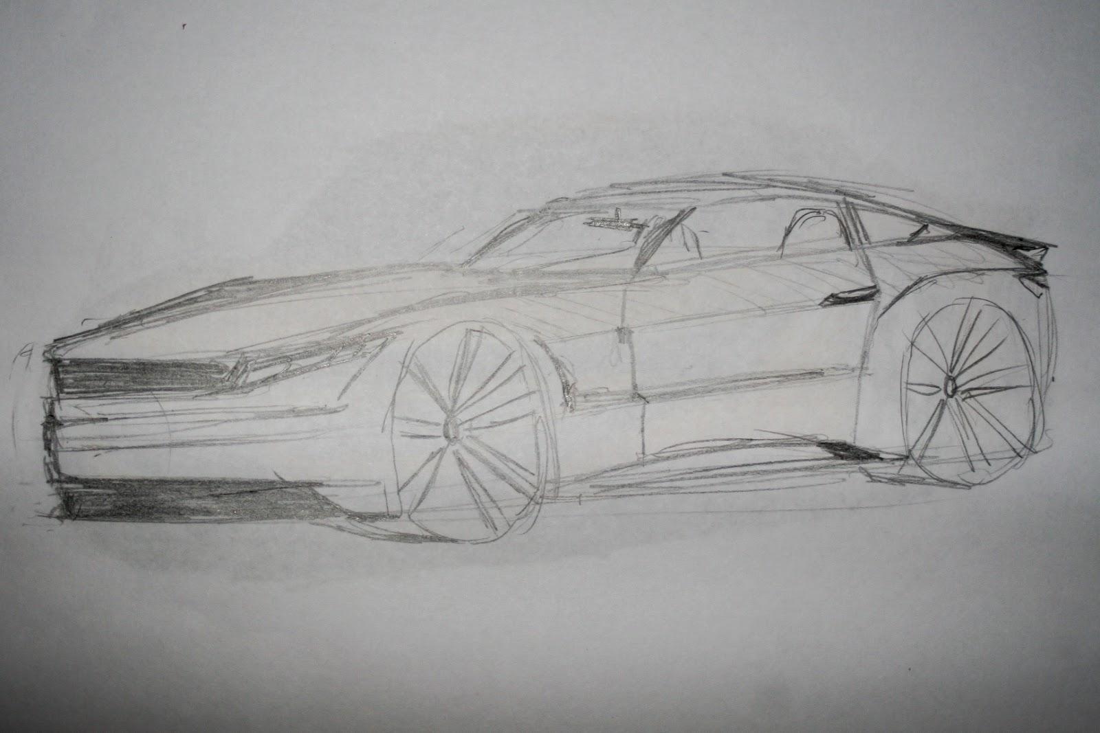 Jasper\'s Car Design/Drawing Blog: A Few New Car Sketches