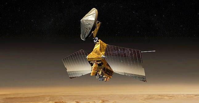 Artist's concept of the Mars Reconnaissance Orbiter. Image Credit: NASA/JPL-Caltech