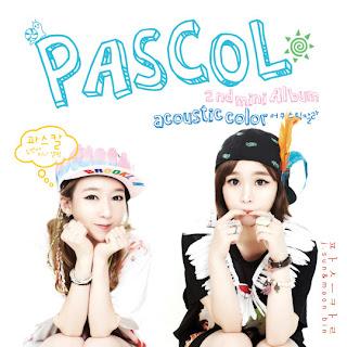 Pascol (파스칼) - 어쿠스틱 컬러 (Acoustic Color) [2nd Mini Album]